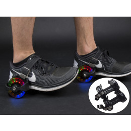 Sporting Pulley Lighted Flashing Heel Skate Rollers