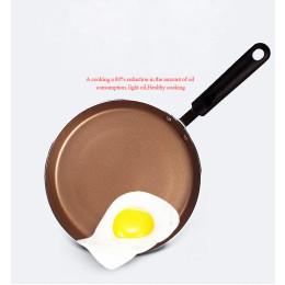 Aluminium non-stick flat pan