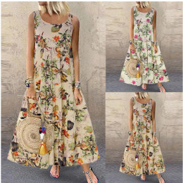 Floral Summer Maxi Dress – 2 Colours