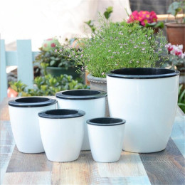 New Automatic water-absorbing Flower Pots