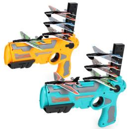 Foam airplane launch toy