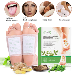 Detoxifying Toxins For Feet 10 Pieces Patches