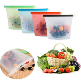 Reusable Silicone Food Fresh Bags