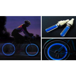 LED light for bike and car wheel