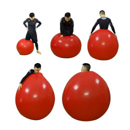 72 Inch Latex Giant Balloon Round Big Balloon for Funny Game