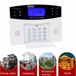 Wireless Home GSM Security Alarm System