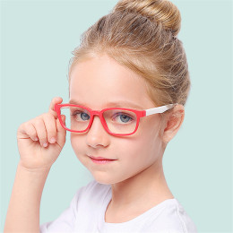 Kids Anti-blue Light Silicone Glasses