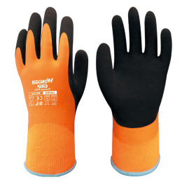 Heavy-Duty High-Visibility Cold-Weather Work Gloves