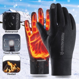 Men and Women Winter Antiskid Thermal Outdoor Touch Screen Riding Skiing Climbing Gloves