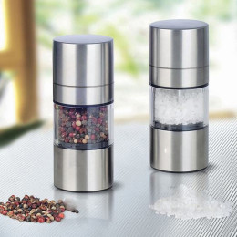 Stainless Steel Manual Salt Pepper Grinder