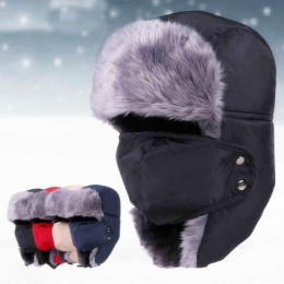 Winter Outdoor Earflap Warm Snow hat