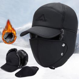 Winter Snow Face Baseball Cap