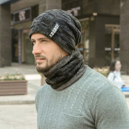 2in1 Cold Weather Beanie with Flexible Neck Guard