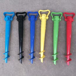 Umbrella ground anchor pierced umbrella stretch bracket holder