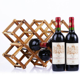 Wooden Red Wine Rack 3/5/6/10 Bottles Holder