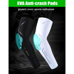 1 pair of honeycomb anti-collision elbow cuffs