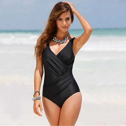 Retro Vintage Compression and Shaper One Piece swimsuit