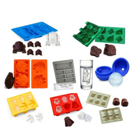 Star Wars Ice Tray Silicone Mold Ice Cube Tray Chocolate Mould