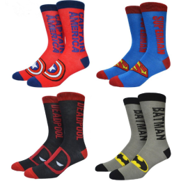 Super Hero party Halloween cosplay costume Socks