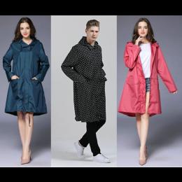 Fashion Outdoor Trench Raincoat Coat Jacket