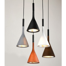 Nordic LED Imitation cement Pendant lights industrial  light Fixtures