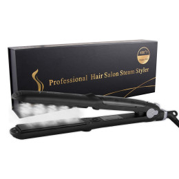 Professional Steam Straightening&Curling Iron