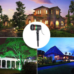 Outdoor Lawn Light Sky Star Laser Spotlight Light Shower