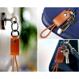 Keychain Key Ring EDC USB Charging Cable