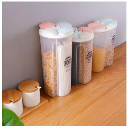 Kitchen transparent plastic food storage box