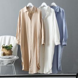 Ladies long shirt dress