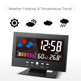 Multi Functional LED Alarm Clock Temperature & Humidity Clock