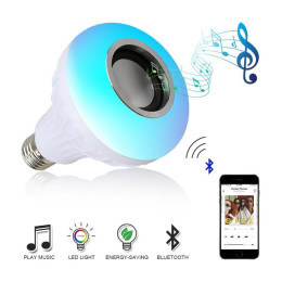 LED Lamp with Wireless Bluetooth Speake