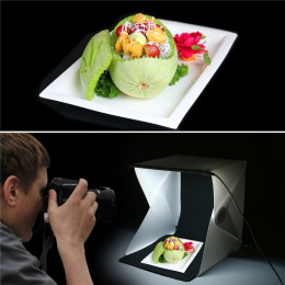 Portable Folding Lightbox Photography LED Light Room