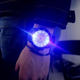 Unisex Sports LED Luminous Quartz Wrist Watch