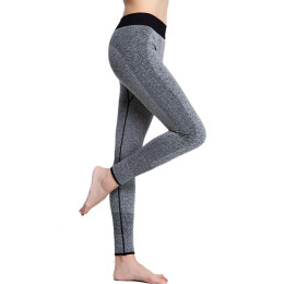 Fitness Women Running Tights Pants Elastic Sports Pants
