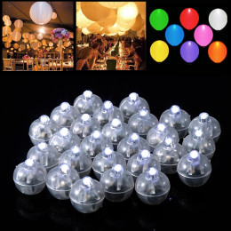 20Pcs 40Pcs Party LED luminous balloon lights