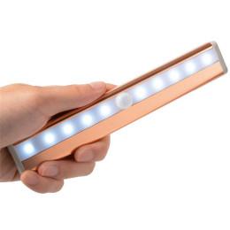 10 LED Night Lights Human IR Infrared Motion Detector Sensor Closet Lighting -