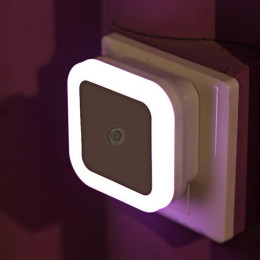 2pcs/Pack Nightlight Sensor Control Light square bedroom lamp for baby colorful romantic lights