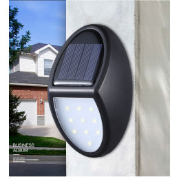 10 LED Solar Wireless Waterproof Security Motion Sensor Outdoor Lights
