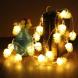 5M/50Led Christmas LED Fairy String Pinecone Light