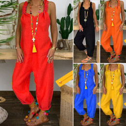 Loose casual one-piece overalls