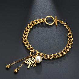 Romantic Heart Shape Stainless Steel Bracelet