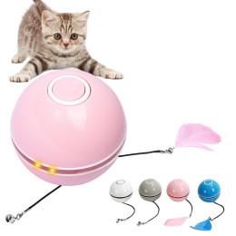 LED luminous funny cat ball