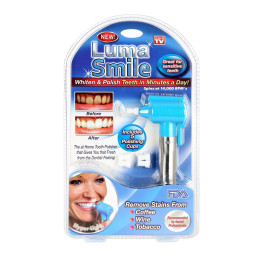 Luma Smile TV Electric Tooth Polish Micro Dental Teeth Whitening Polish Machine