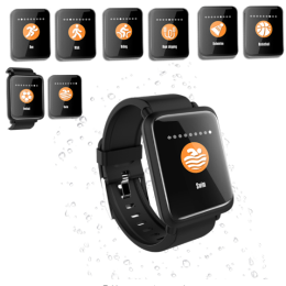 Smart Watch M28 IP68 Waterproof Bluetooth Heart Rate Smartwatch
