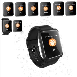 Smart Watch M28 IP68 Waterproof Bluetooth Heart Rate Smartwatch