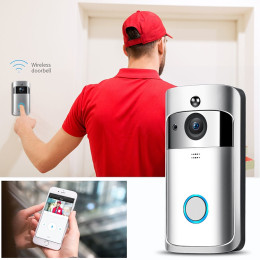 M3 Visible Doorbell WiFi Wireless Alarm Smart Home Door Viewer Camera