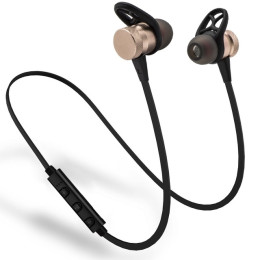M98 Magnetic Metal Wireless Bluetooth Sport Running Super Bass Stereo Earphones With Microphone