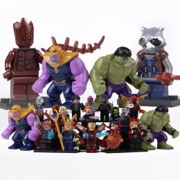 Avengers League Block Action Marvel Super Heroes