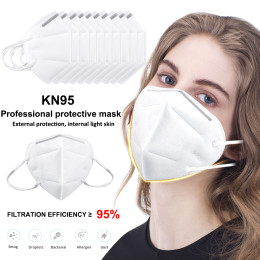 3pcs/5pcs/10pcs/Pack KN95 Face Mask CE Certification